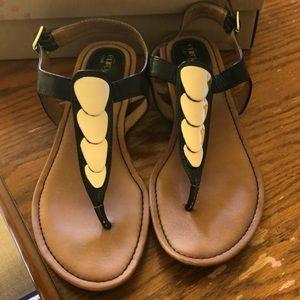 Black Eurosoft Sandals